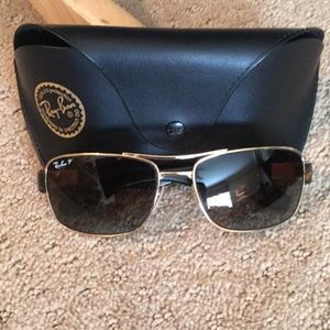 RayBan Polarized tortoise sunglasses